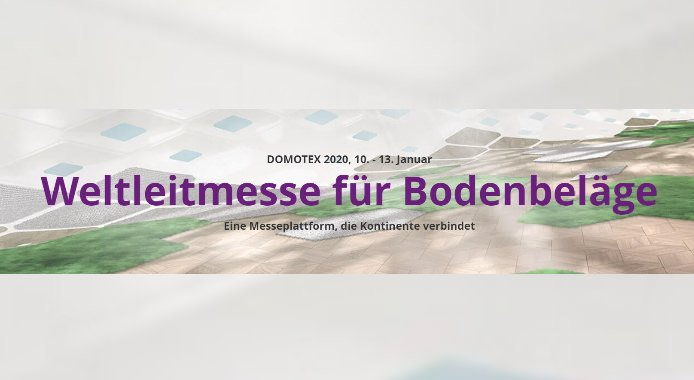Domotex vom 10. – 13.01.2020 in Hannover